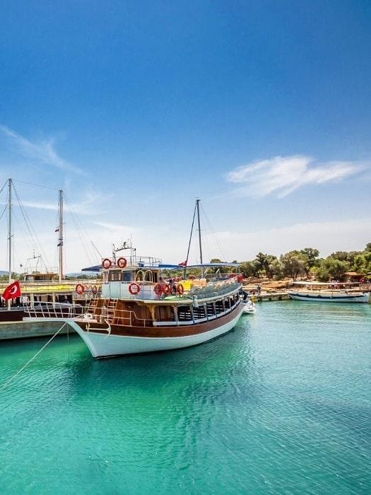 Ausflug von Marmaris nach Kleopatra Insel