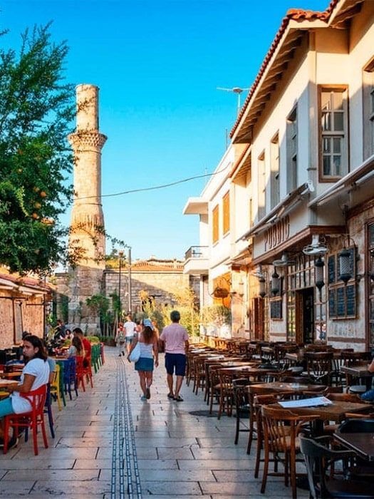 Besichtigungstour in Antalya