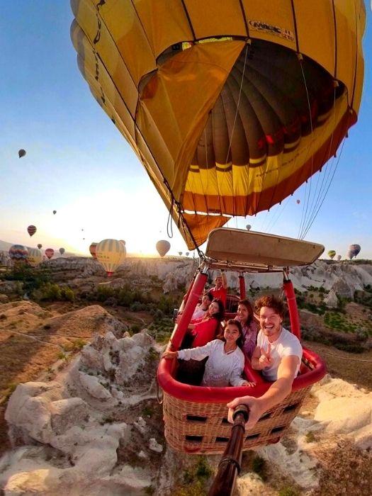 Heißluftballon Tour in Kappadokien