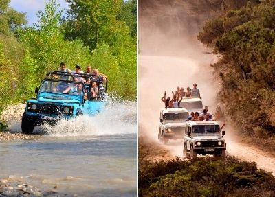 Jeep-Safari Tour in Antalya