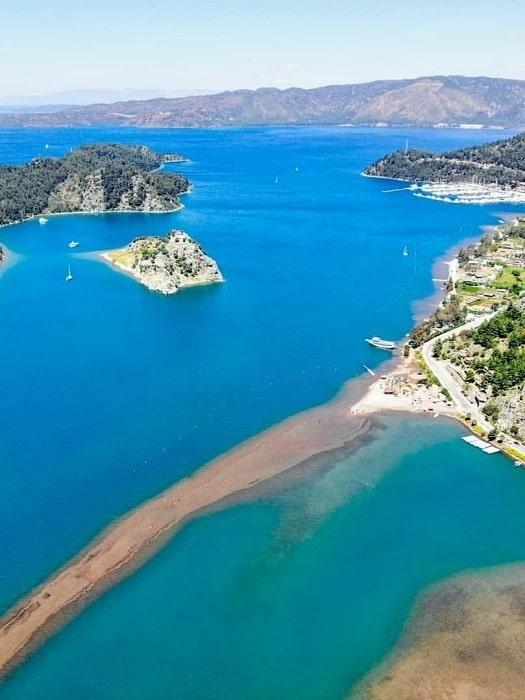 Marmaris Ägäische Inseln Bootsfahrt