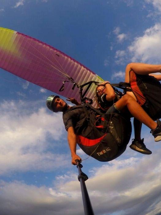 Gleitschirmfliegen Paragleiten in Alanya