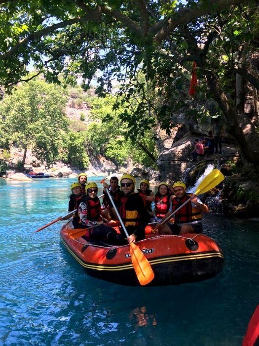 Wildwasser Rafting Tour von Alanya
