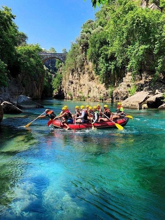 Rafting Tour von Alanya