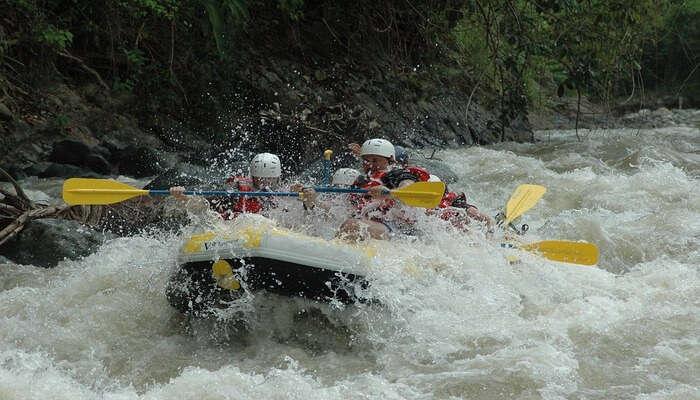 Abenteuerliches Rafting