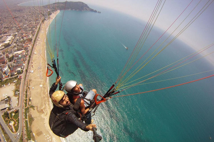 Alanya Paragliding Tour