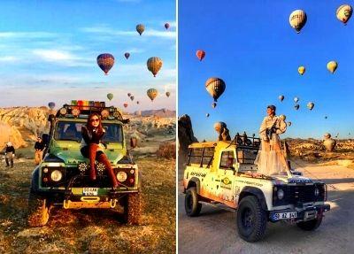 Jeep Safari in Kappadokien
