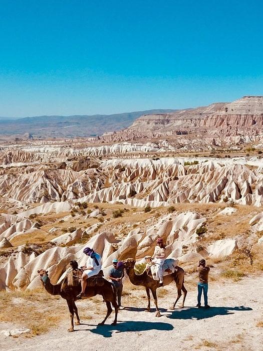 Kamelsafari in Kappadokien