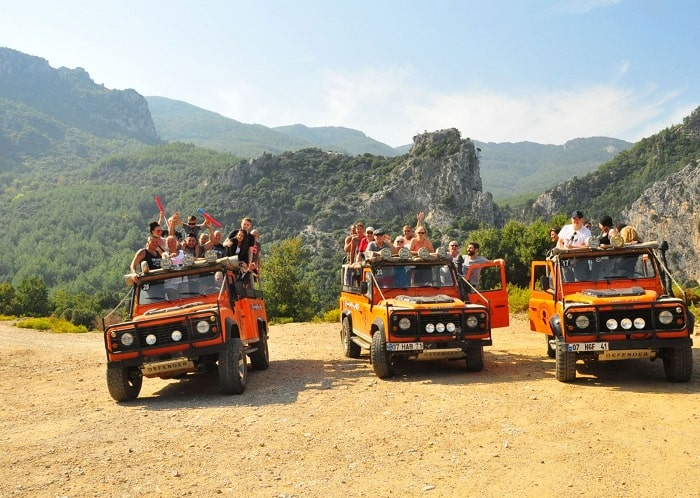 Kemer Jeep Safari