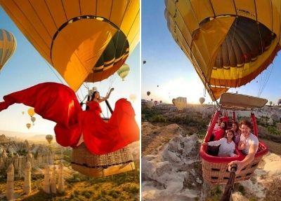 Privater Heißluftballonfahrt in Kappadokien