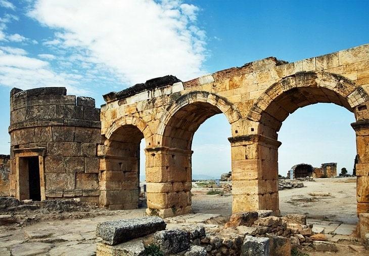 Ruinen der Stadt Hierapolis