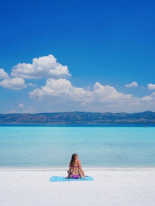 Salda See und Pamukkale von Alanya