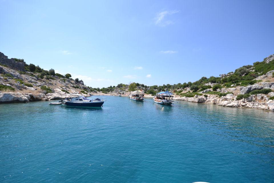 Tägliche Bootsfahrten in Kemer