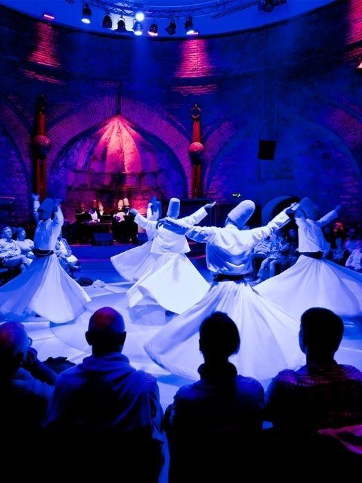 Tanz der Derwische Show in Kappadokien