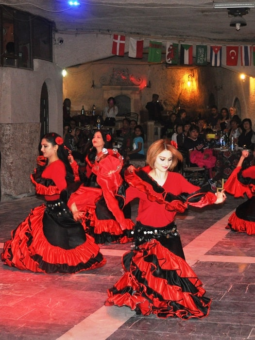 Türkische Nacht in Kappadokien