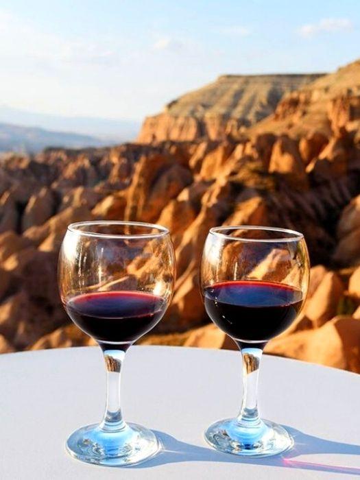 Weinprobe in Kappadokien