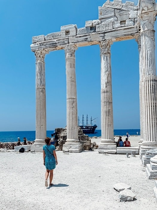 Ausflug zur Manavgat Aspendos Side von Antalya
