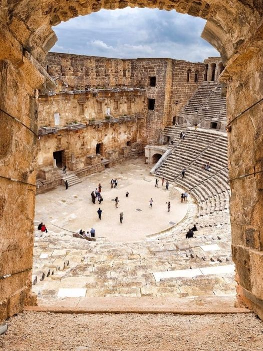 Belek nach Perge Aspendos Side Tour