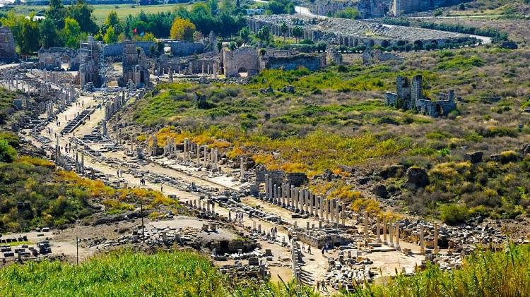 Die Antike Stadt Perge