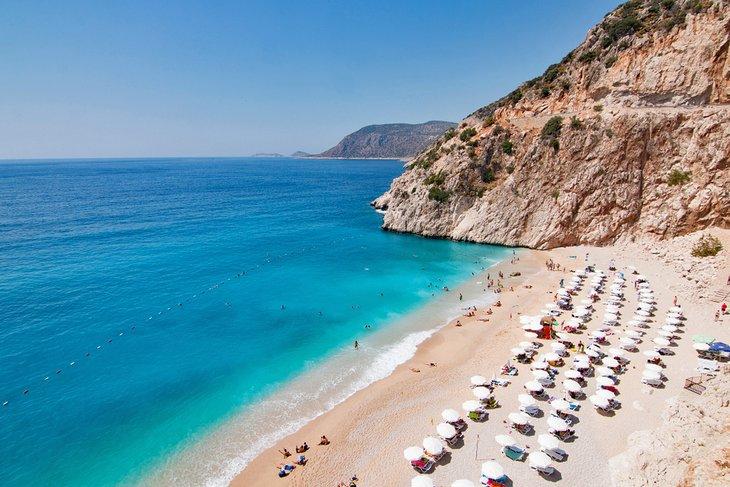 Die Top Schönsten Strände der Türkei Kaputas Strand