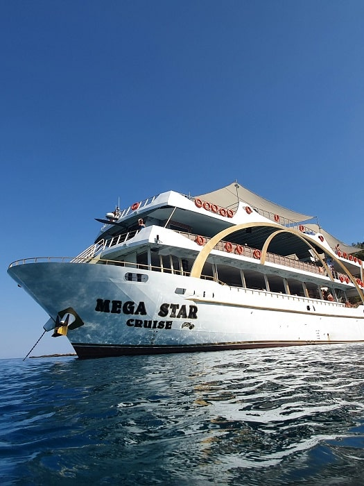 Mega Star Bootstour von Belek