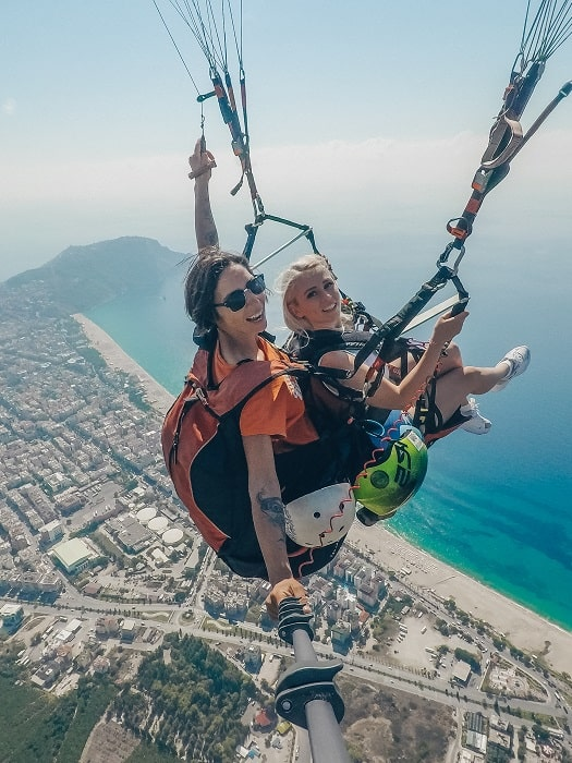 Paragleiten Gleitschirmfliegen in Antalya