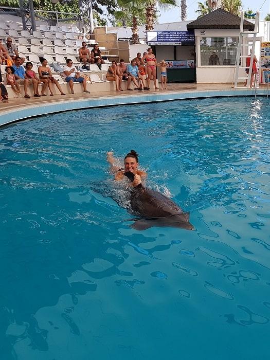 Schwimmen mit Delfinen in Antalya
