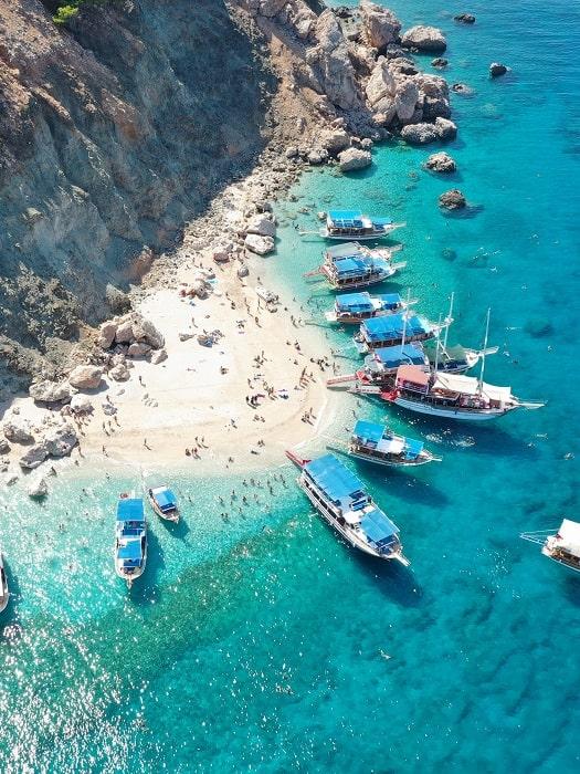 Tägliche Bootsfahrt nach Suluada Insel von Antalya