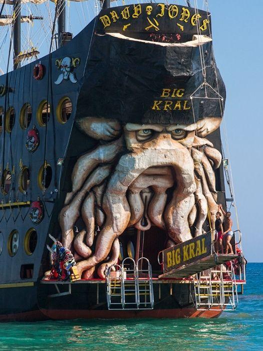 Ausflug Big Kral Piratenschiff in Antalya