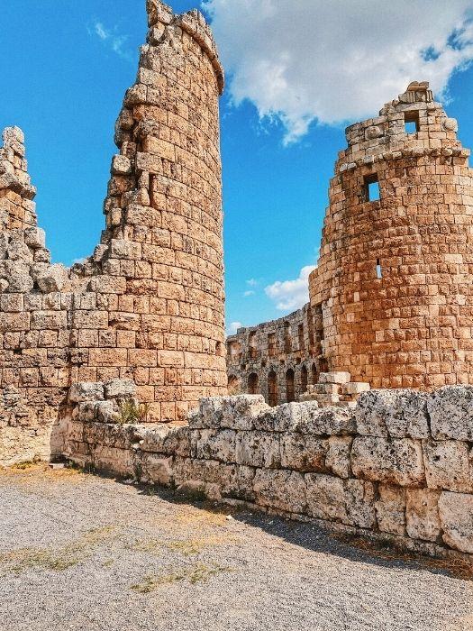 Ausflug Perge Aspendos und Side