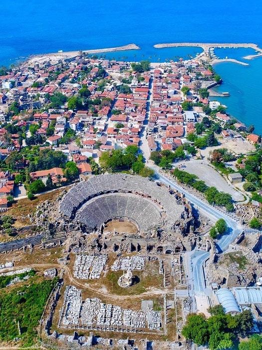 Ausflug von Belek nach Manavgat Aspendos Side