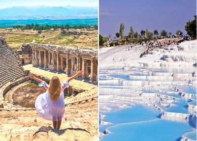 Ausflug von Belek nach Pamukkale und Ephesos