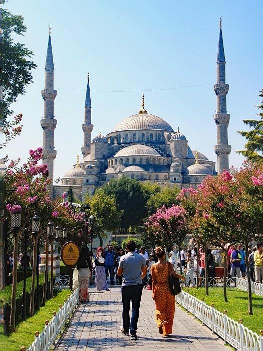 Ausflug von Side nach Istanbul