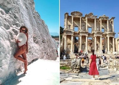 Ausflug von Side nach Pamukkale und Ephesos