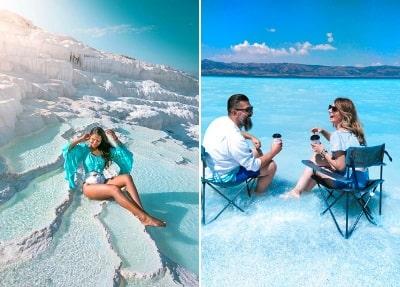 Ausflug zum Salda See und Pamukkale von Marmaris