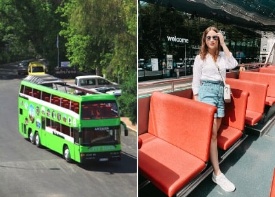 Cabrio Bus Safari Tour in Side