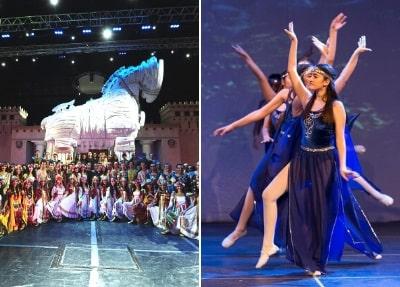 Feuer der Anatolien Tanzshow von Side