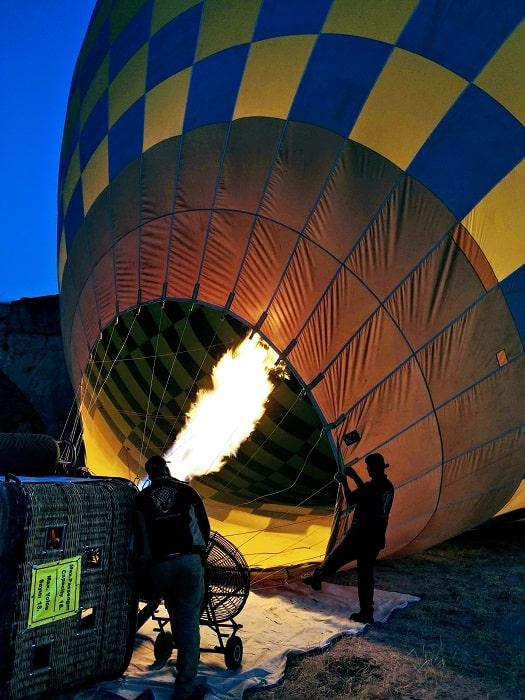 Heißluftballon in Pamukkale ab Belek