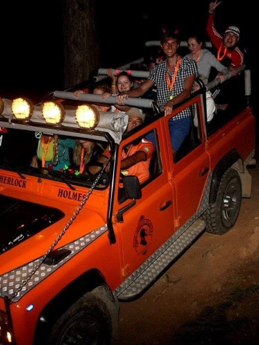 Jeep Safari von Belek nach Olympos Chimaera Yanartas