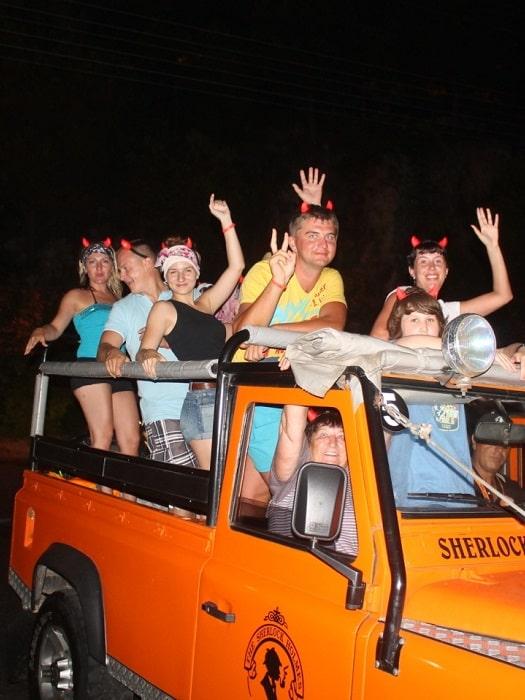Jeep Safari von Belek nach Olympos Chimaera Yanartas 1