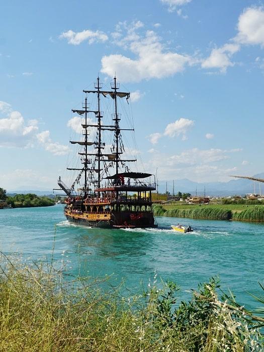 Manavgat Flusskreuzfahrt von Side