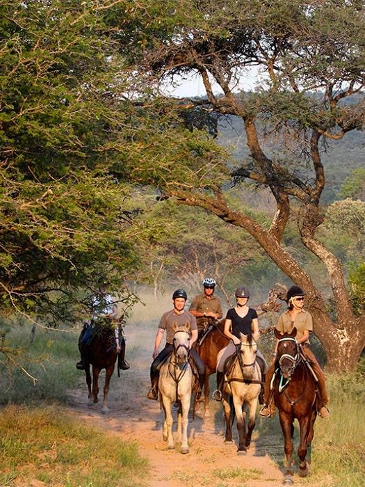 Pferdesafari in Side