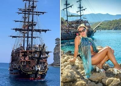 Piratenbootsfahrt von Belek