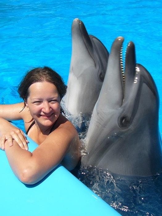 Schwimmen mit Delfinen in Belek