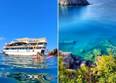 Tagestour Mega Star Bootsfahrt von Antalya