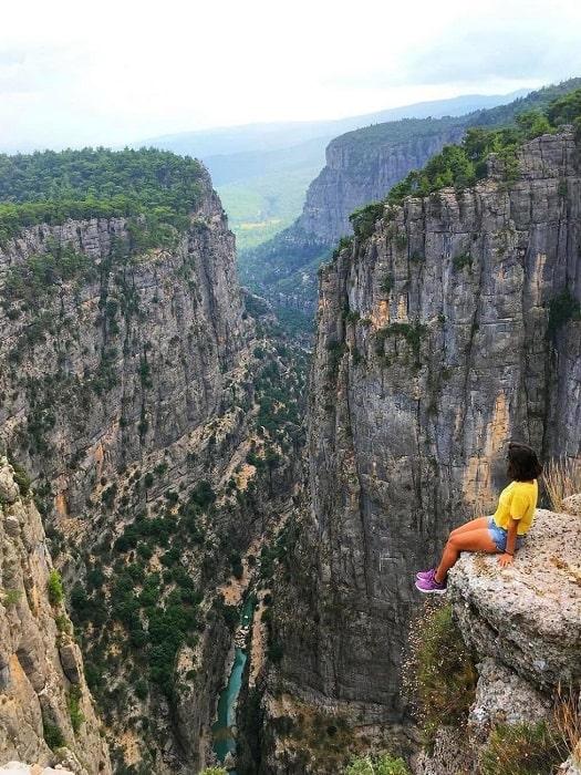 Tazi Canyon und Selge von Side