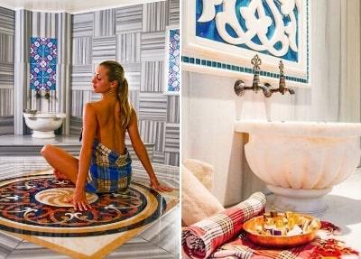 Türkisches Bad in Belek