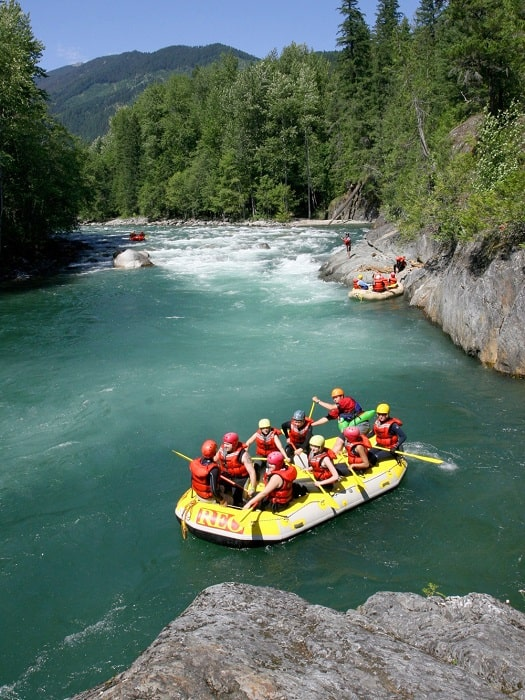 Wildwasser Rafting in Side