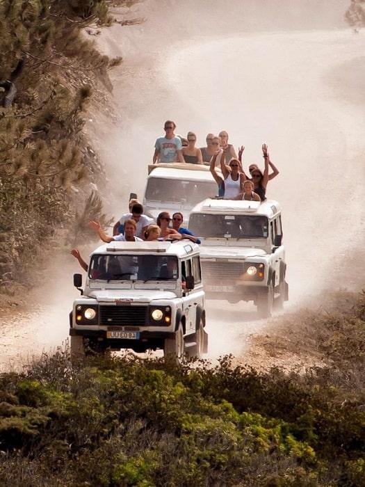 Jeep Safari Tour in Side